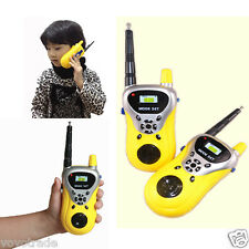 1Pair 2PCS Children's gifts Toy Walkie Talkie Child Watch Interphone Outdoor