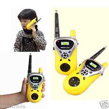 1Pair 2PCS Children's gifts Toy Walkie Talkie Child Watch Interphone Outdoor
