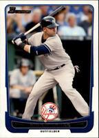 2012 Bowman Baseball Base Singles #1-124 (Pick Your Cards)