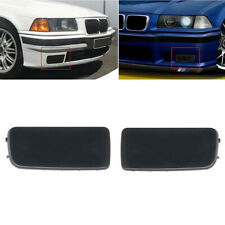 2Pcs Black For BMW E36 3-Series Fog Light Hole Cover Cap Grille 318is 323i 325i