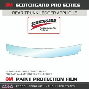 3M SCOTCHGARD PRO PAINT PROTECTION FILM CLEAR BRA FOR 19-21 AUDI A7