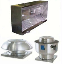 Superior Hoods 11ft Etl Listed Hood System With Make Up Air Amp Exhaust Fans