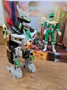 Original 1993 Bandai Dragonzord Vintage Megazord Power Rangers MMPR Green Ranger