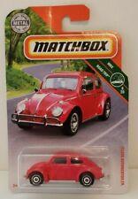 2019 Matchbox Red 1962 Volkswagen Beetle Case  HTF