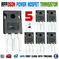 5pcs IRFP260N Power MOSFET IRFP260 N-Channel Transistor 50A 200V TO-247