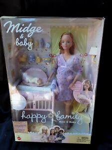 Barbie Happy Family pregnant MIDGE AND BABY