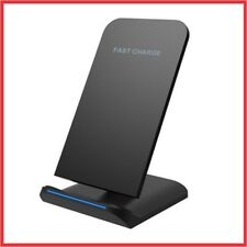 Wireless Charger Ladestation Qi Induktiv Ladegerät Samsung Galaxy Edge Iphone X