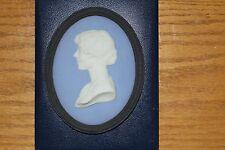 Rare Vintage Wedgwood Jasper Ware HRH Elizabeth Duchess of York Plaque (c.1930)