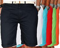Shorts Geographical Norway Canadian Peak Uomo Men Bermuda Pantaloncini + cintura