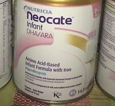6 cans Neocate Infant DHA/ARA Formula