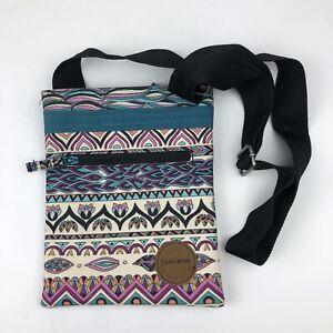 Dakine Crossbody Shoulder Multicolored Pattern Adjustable Bag Purse