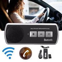 Mains Libres Multipoint WiFi Bluetooth Haut-parleur Haut Parleur Kit Voiture