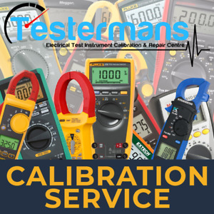 RS Pro TPI LAP Clamp Meter Professional Calibration Service Up To 1500A