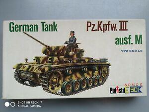 Pz.Kpfw III Ausf. M  1/72 ESCI 1975