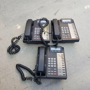 Lot of 3 Toshiba DKT2010-SD Office Desk Phone for Business