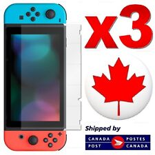 3 PACK - Premium Tempered Glass Screen Protector for Nintendo Switch