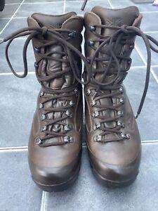 KARRIMOR SF GTX Gore-Tex Patrol Brown Boots ,High Liability British Army Size 9M