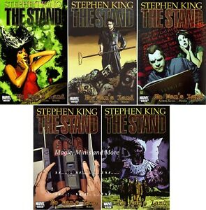 The STAND: NO MAN'S LAND (5) Issue SET #1 2 3 4 5 1st print Stephen King Comic