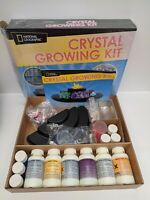 National Geographic Crystal Growing Kit 10+ (Damaged Packaging) - New but Opened