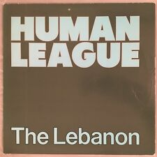 "HUMAN LEAGUE - The Lebanon - 12"" Single (Vinyl LP) A&M SP 12101"