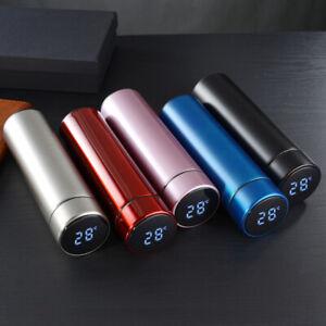 Thermosflasche Vakuum Isolierbecher Trinkflasche aus Edelstal Thermoskanne 0.5L