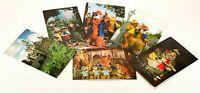 VTG Disneyland Walt Disney World Mixed Postcards 6 Lot