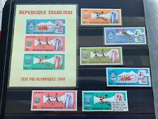 Togo 1968 Olympic Games Stamps MNH