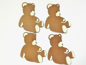 Teddy Bears Toys Baby Papercraft Embellishments Scrapbooking Card Making Crafts