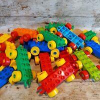 5 DUPLO lego Train CAR WHEEL BASE RANDOM SELECTION