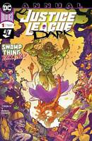 JUSTICE LEAGUE DARK ANNUAL #1 DC COMICS SWAMP THING COVER A 1ST PRINT
