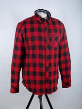 Da Uomo Cotone Manica Corta Camicia Tokyo Laundry LORENTE Gingham Check con Colletto S-XL