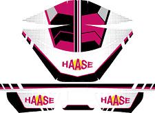 HAASE STYLE ROTAX AIRBOX STICKER KIT - KARTING