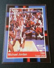 Michael Jordan 1985 Promo Card Team USA Trading Card NBA