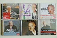 CHARLES AZNAVOUR   ♦ lot 6 x CD Album ♦