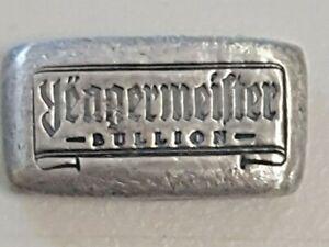 1 oz Yeagermeister (YPS) Bullion Bar .999 Fine Silver
