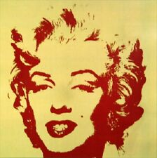 Andy Warhol Gold Marilyn Monroe Sunday B Morning Serigraph Silkscreen #6