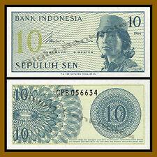 Indonesia 10 Sen, 1964 P-92 Unc