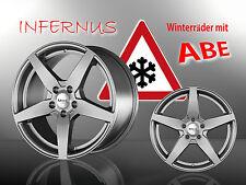 Infernus Winterräder 18 Zoll 225/40 R18 M+S Winterreifen VW Golf R-Line 1909