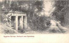 POSTCARD  BUCKINGHAMSHIRE    HARTWELL   Eqyptian  Springs