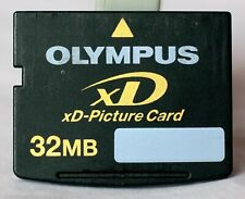 Olympus 32MB xd card, choice of either Japanese or Korean made.