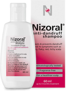 Nizoral Anti-Dandruff Shampoo, Treats And Prevents Dandruff, Suitable For Dry Fl