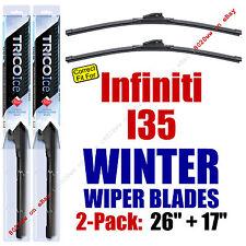 WINTER Wiper Blades 2pk Super-Premium fit 2002-2004 Infiniti I35 35260/170
