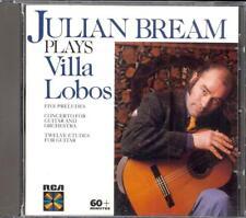 VILLA-LOBOS - Guitar Concerto / 5 Preludes / 12 Etudes - Julian BREAM / PREVIN