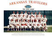 1969 ARKANSAS TRAVELERS TEAM PHOTO 8X10 CARDINALS LITTLE ROCK  BASEBALL