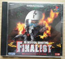 3D MISSION SHOOTING FINALIST PS1 PLAYSTATION 1 EDIZIONE NTSC JAP