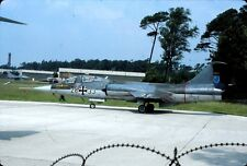 Original colour slide TF-104G Starfighter 28+33 of German Air Force