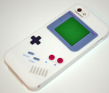 White Game Boy Retro Style Soft Silicone Rubber Case Cover for iPhone 6 6s