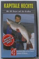 VHS-Video: Kapitale Hechte. Mit Uli Beyer auf die Großen. Blinker-Film