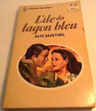 Book in French L' ILE DU LAGON BLEU Livre en Francais COLLECTION COLOMBINE