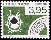 "FRANCE PREOBLITERE TIMBRE STAMP N°185 ""CARTES A JOUER, TREFLE"" NEUF xx TTB"